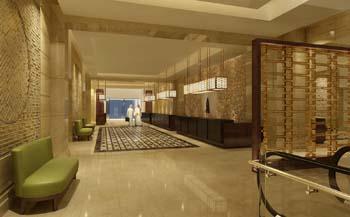 شكل الفندق من الداخل